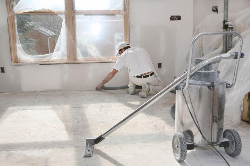 обеспыливание стен после ремонта