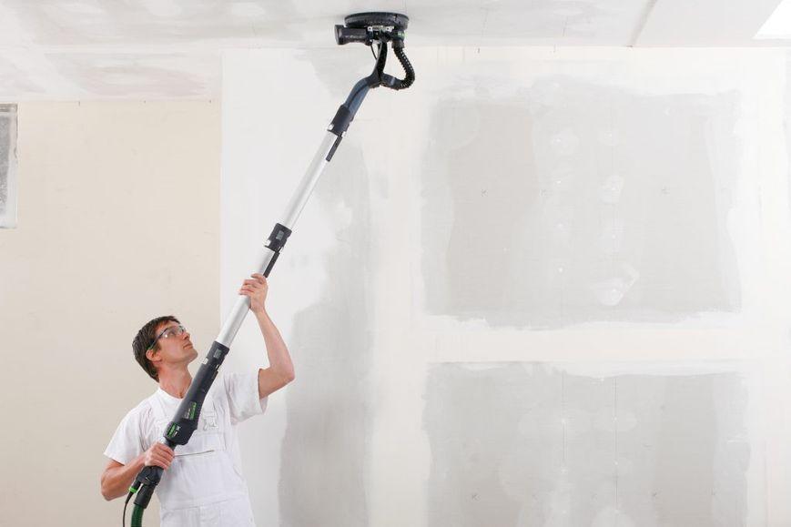 Обеспыливание стен и потолков