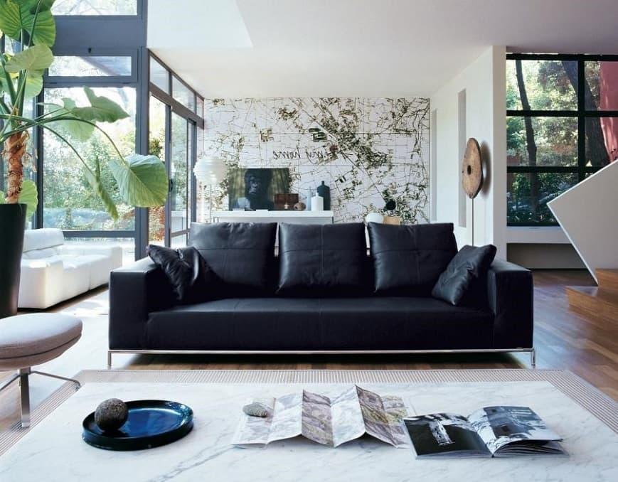 Кожаный диван чистка