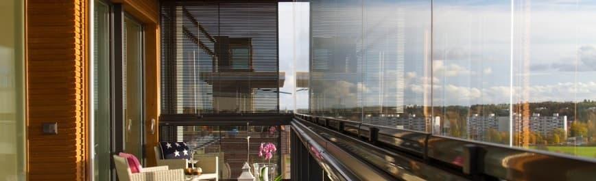 Мытьё балконов